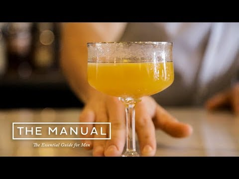 How To Make The Infield Punch - A Cocktail With a Major Kick