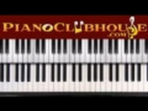♫ How to play THE BLUES SCALE in all keys (piano tutorial lesson)