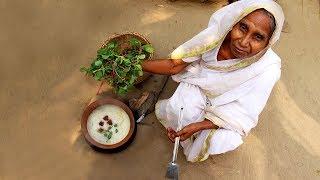 Shiter Sokaler Village Breakfast Recipe by our Grandmother | Morning Breakfast in winter Season