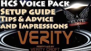 Elite: Dangerous || VoiceAttack & HCS A S T R A  voicepack