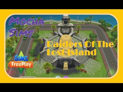 The Sims Freeplay - Raiders Of The Lost Artifacts Quest
