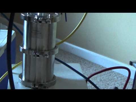 BHO extraction machine setup