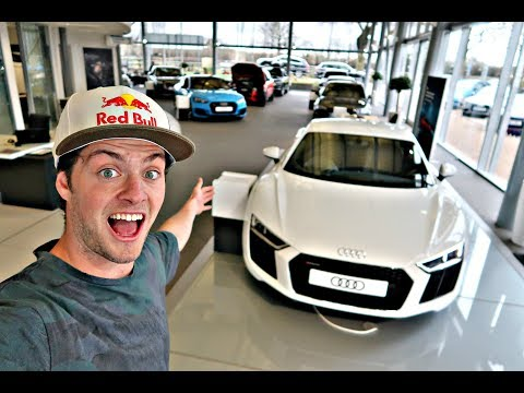 INSANE AUDI SUPERCARS!!