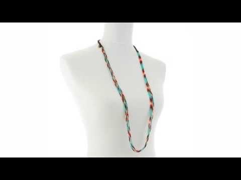 Chan Luu Multi Strand Stretch Seed Bead Necklace SKU:8573441