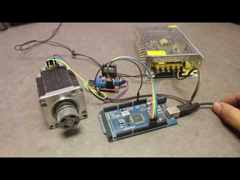 How to Run Stepper Motor with Arduino using L298N Driver Module