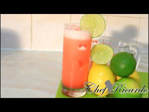 Tropical Drinks | Recipes By Chef Ricardo