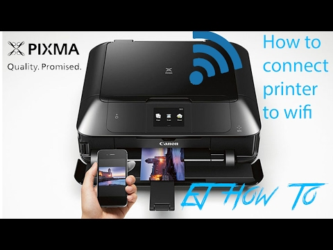 How To Connect Canon Pixma Printers To WiFi | EJ How To