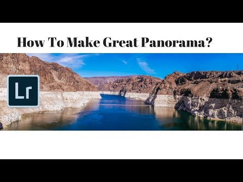 How to create Great Panorama view without Tripod? | Adobe Lightroom