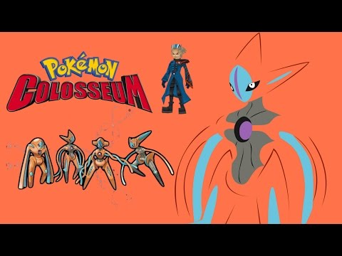 What happens when you trade deoxys to Pokemon Colosseum or Pokemon XD Gale of Darkness?