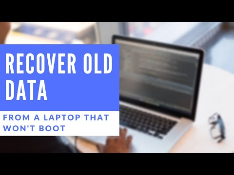 How to- Recover Data from a Dead Laptop Without Removing the Hard Drive or Using Another Computer