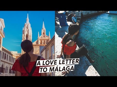 A Love Letter To Málaga, Spain | Emotional Cinematic Travel Vlog