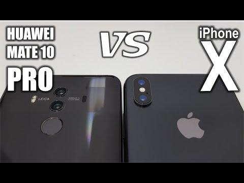 Best Camera Phone - Huawei Mate 10 Pro VS iPhone X