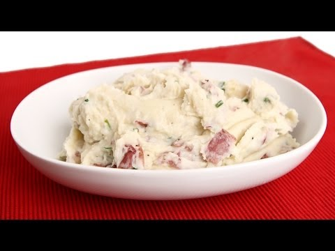Red Skin Mashed Potatoes Recipe - Laura Vitale - Laura in the Kitchen Episode 677