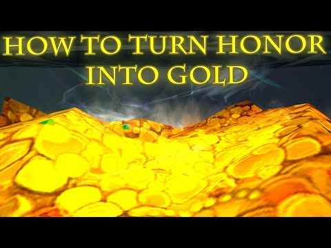 How to Turn Honor into Gold in World of Warcraft | WoW Legion Gold Guide