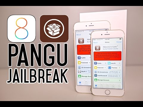 How To Jailbreak iOS 8 Untethered - iPhone, iPad, iPod on 8.1, 8.0.2 Pangu