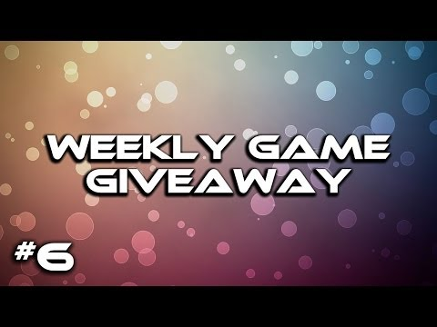 Game Giveaway Week 6 (CLOSED) + Week 5 Winners