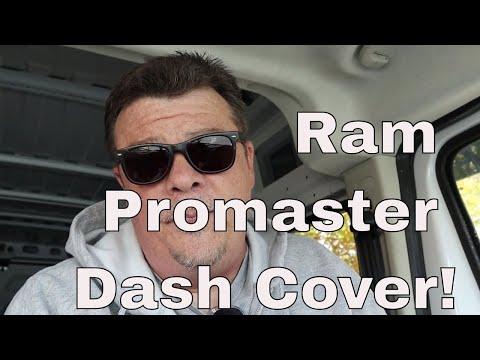 Ram Promaster Dash Cover!