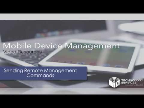 Sending Remote Management Command