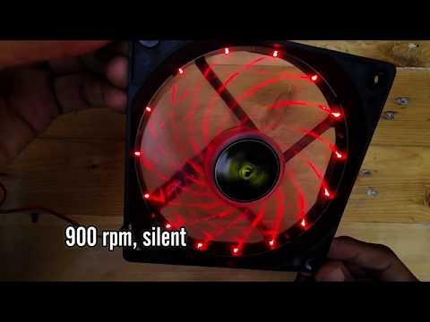Armaggeddon Scarlet Blade 12cm RED LED Fan