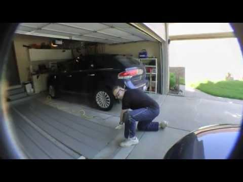 UNDER DECK SIDING INSTALL PART 01 ON A WALK OUT BY PIPEFITTERMIKE