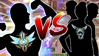 Smite: 1 Grand Masters Player Vs. 3 Silver Players