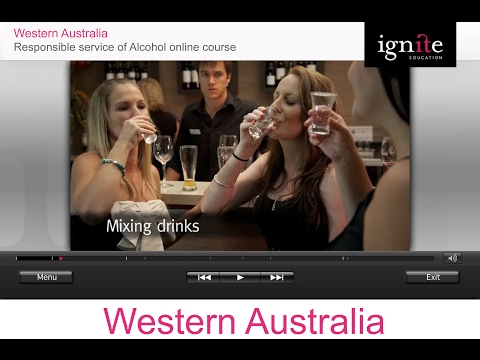 Information On Responsible Service Of Alcohol Online Certificate In Australia