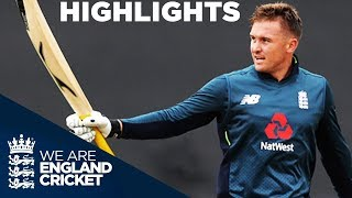 Roy Hits Hundred In High Scoring Match | England v Australia 2nd ODI 2018 - Highlights
