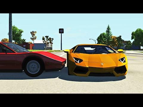 Crossroad Car Crashes Compilation #7 - BeamNG.Drive •ShowMik