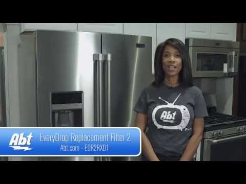 How To: Replace A Water Filter On A Maytag French Door Refrigerator Using EveryDrop Filter 2