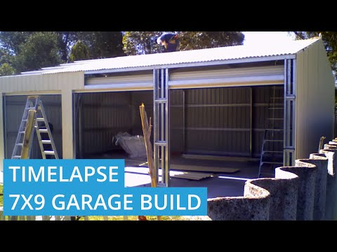 Roys Sheds Constructs 7m x 9m x 3m Shed in Thornlie WA 6108
