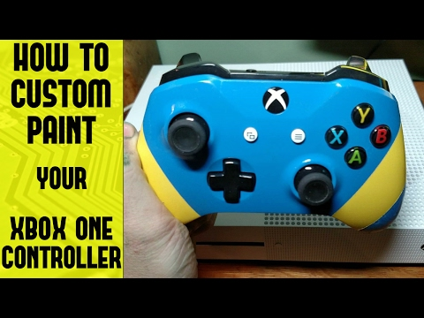 How to disassemble and paint your Xbox One S controller!