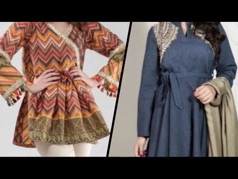 Latest Beautiful And Stylish Short Frock Style And Designs