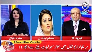 Sawal Vote Ka   Special Transmission   20 July 2018   Aaj News