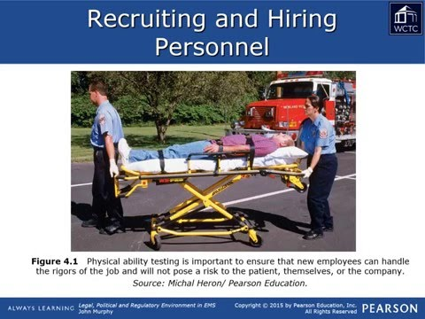EMS Leadership & Management - Legal 04: Employment and Staffing