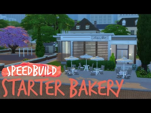 The Sims 4 | Starter Bakery | Speedbuild