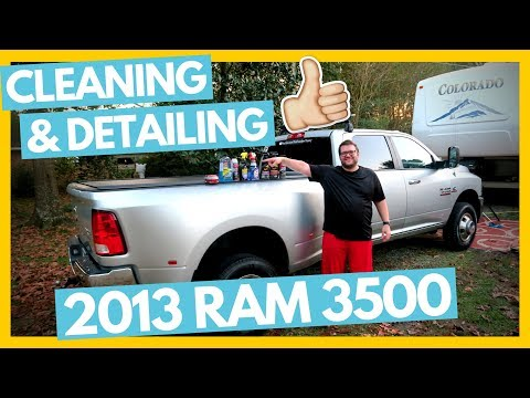 Detailing Our 2013 Ram 3500 & Products We Use 👍 Full Time RV Family
