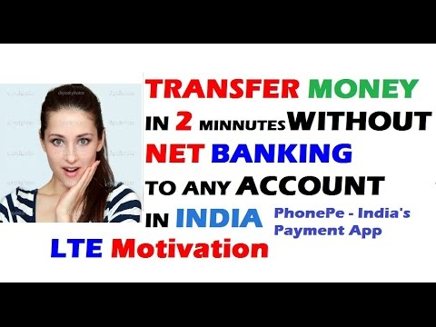 How to Transfer Money without Net Banking to any Account in India | PhonePe App | Hindi
