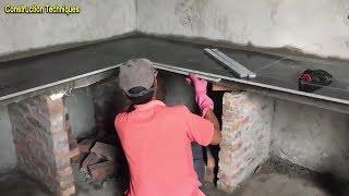 Amazing Techniques - Granite Kitchen Countertop Installation Video