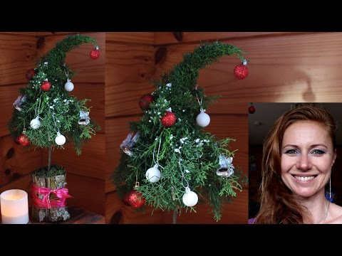Christmas decorations - How to make a Christmas tree for small apartments