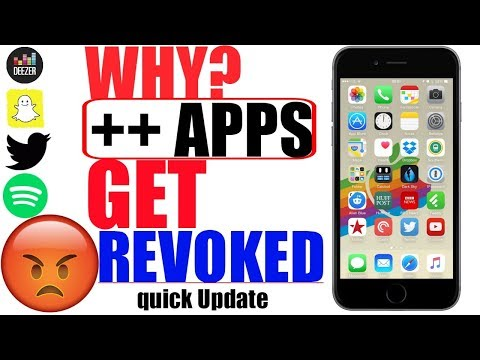 iOS 11/ iOS 9-10.3.3: WHY ++ APPS GETS REVOKED SO OFTEN_Spotify ++, Snapchat ++, Deezer ++ & More :(