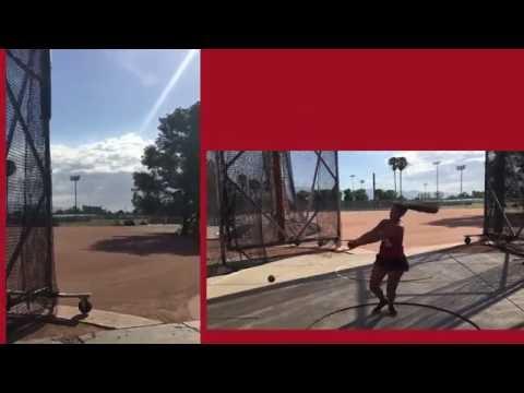 Arizona Wildcat Hammer Throw
