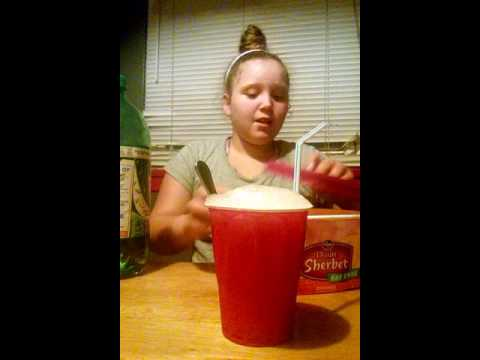 My first video how to make sherbet punch
