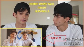Dobre Twins Respond To Martinez Twins & Leaving Team 10