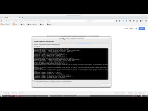 9.1. Install Chrome - Things to Do After Linux Mint 18 Installation