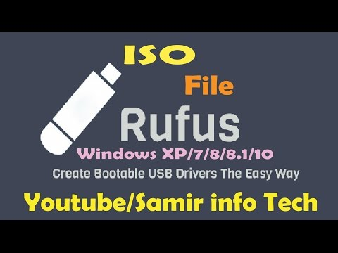 How to create a bootable Windows USB using Rufus 2017