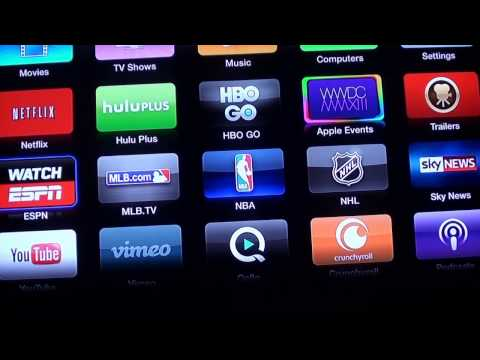 Apple TV Update: HBO GO, Watch ESPN