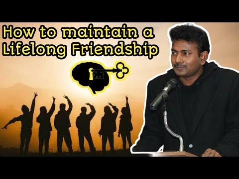 How to Maintain a Life Long Friendship? - Tamil - நீண்ட கால நட்பை வளர்ப்பது எப்படி?