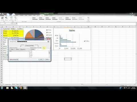 How to Create a Bar Chart in Microsoft Excel Part 2