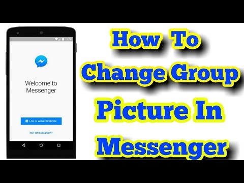 How To Change Group picture In Messenger