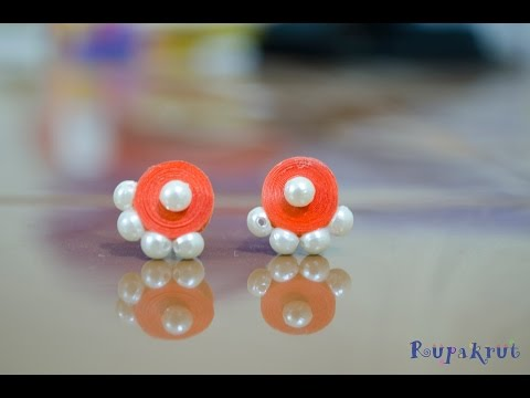 How to make Studs with Quilling?